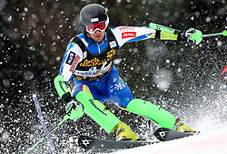 KUERNER Miha of Slovenia during the 1st Run of Men's Slalom - Pokal Vitranc 2013 of FIS Alpine Ski World Cup 2012/2013, on March 10, 2013 in Vitranc, Kranjska Gora, Slovenia.  (Photo By Vid Ponikvar / Sportida.com)