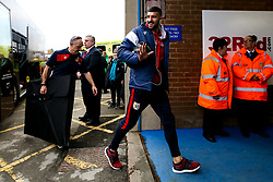 Eros Pisano of Bristol City arrives at Elland Road for the Sky Bet Championship fixture against Leeds United - Mandatory by-line: Robbie Stephenson/JMP - 24/11/2018 - FOOTBALL - Elland Road - Leeds, England - Leeds United v Bristol City - Sky Bet Championship