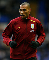 Photo: Steve Bond/Sportsbeat Images.<br /> Birmingham City v Aston Villa. The FA Barclays Premiership. 11/11/2007. John carew during the warm up