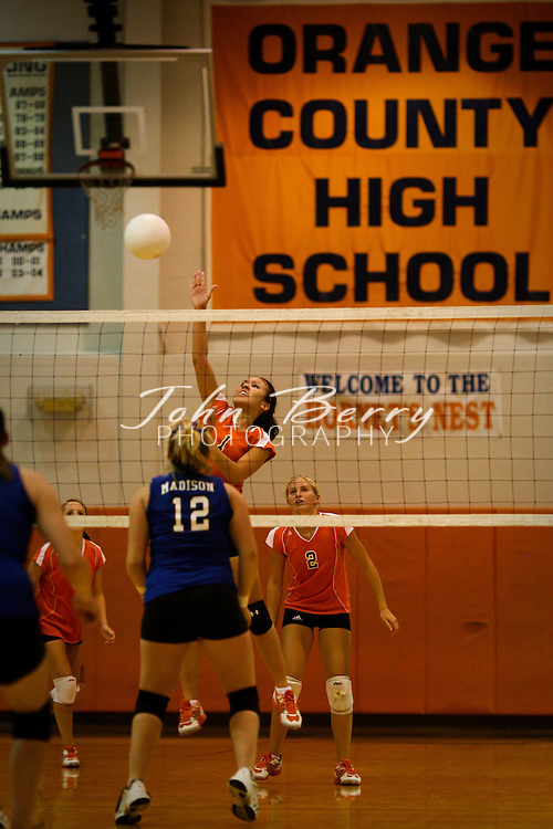 MCHS Varsity Volleyball .AT Orange.8/19/2008