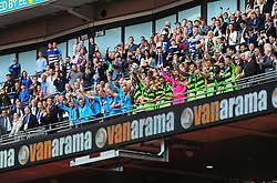 Forest Green Rovers players celebrate promotion to league two  - Mandatory by-line: Nizaam Jones/JMP - 14/05/2017 - FOOTBALL - Wembley Stadium- London, England - Forest Green Rovers v Tranmere Rovers - Vanarama National League Final