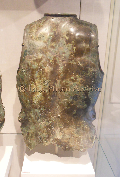 Bronze cuirass (chest armour) Etruscan 6th -5th century BC