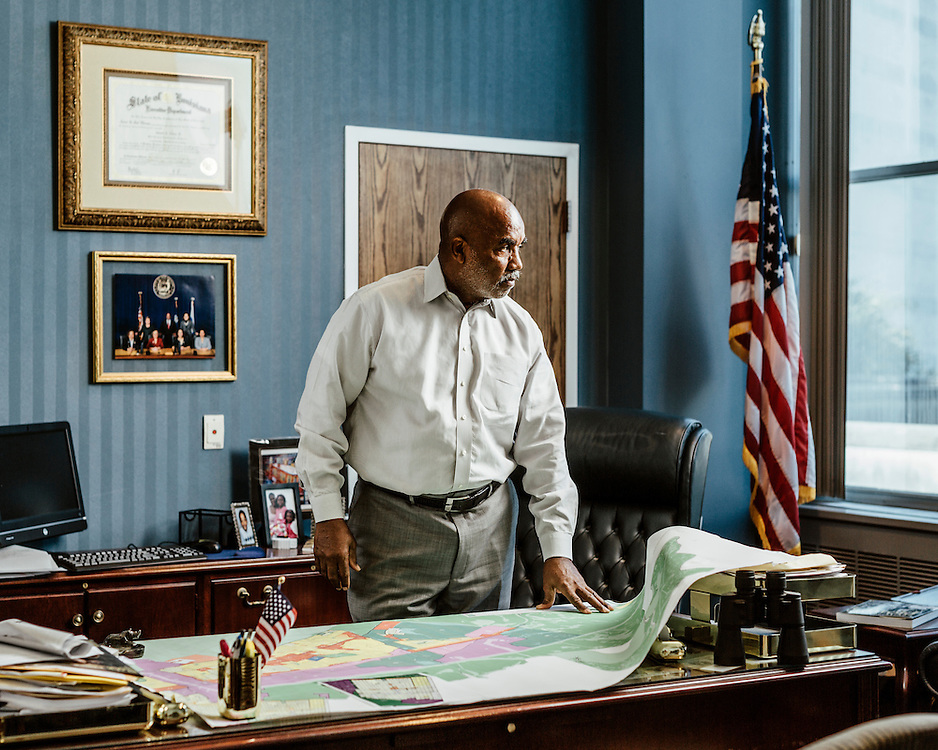 "Councilman James A. Gray II, 68, New Orleans, Louisiana, USA. ""I lost my district."" 