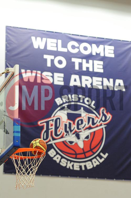 Bristol Flyers - Photo mandatory by-line: Dougie Allward/JMP - Mobile: 07966 386802 - 13/02/2015 - SPORT - Basketball - Bristol - SGS Wise Campus - Bristol Flyers v Surrey United - British Basketball League