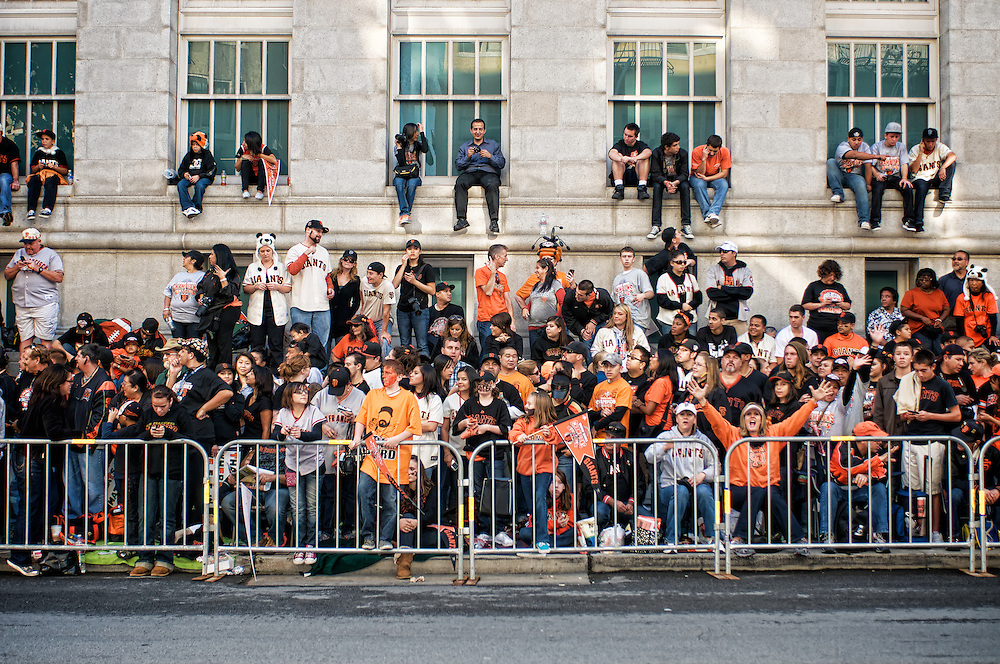 Crowds gather in San Francisco to see 2010 Giants World Series Parade | November 3, 2010