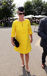 Zara Phillips arriving at Ladies Day at Glorious Goodwood in the UK  Thursday, 1st August 2013<br />