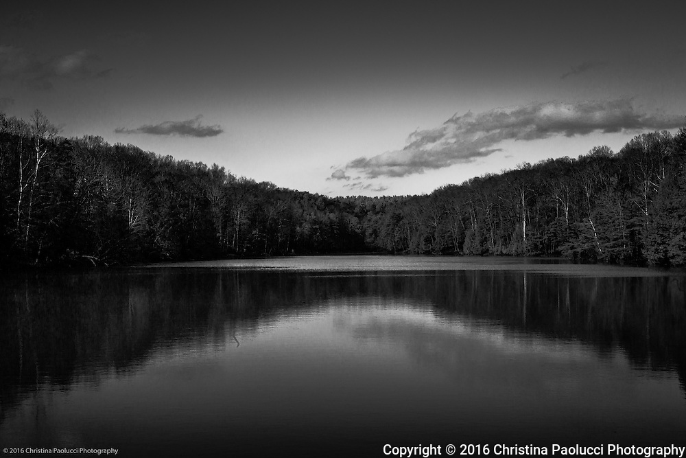 Rose Lake near Old Man's Cave in the Hocking Hills March 2016. (Christina Paolucci, photographer).