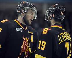Brady Austin of the Belleville Bulls. Photo by Aaron Bell/OHL Images
