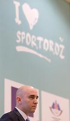 Jozko Krizan of OKS Olimp during Sporto  2010 - Sports marketing and sponsorship conference, on November 29, 2010 in Hotel Slovenija, Portoroz/Portorose, Slovenia. (Photo By Vid Ponikvar / Sportida.com)