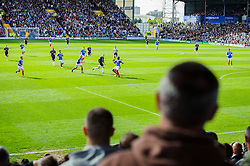 A general view as Bristol Rovers fans look on - Photo mandatory by-line: Rogan Thomson/JMP - 07966 386802 - 19/04/2014 - SPORT - FOOTBALL - Fratton Park, Portsmouth - Portsmouth FC v Bristol Rovers - Sky Bet Football League 2.