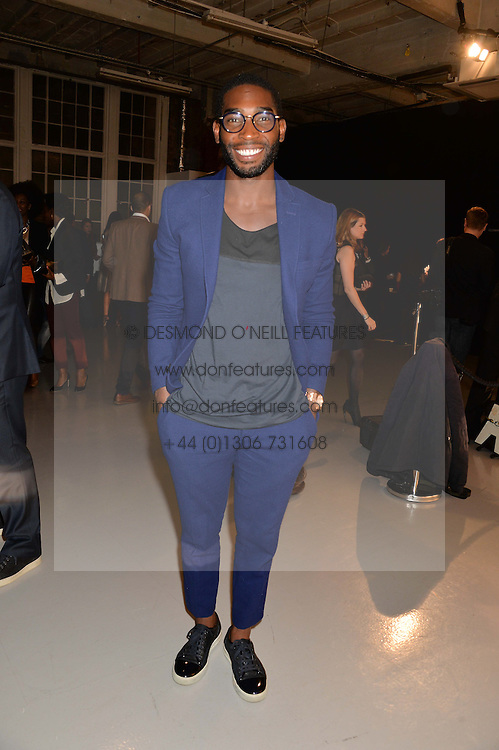 TINIE TEMPAH at the Audemars Piguet Royal Oak Offshore 42mm Party held at Victoria House, Bloomsbury Square, London on 23rd April 2014.