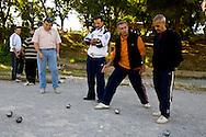 Algeria. Constantine. Al Maqam association , ball games, petanque    / Algerie, Constantine.  Al maqam association club bouliste petanque    13