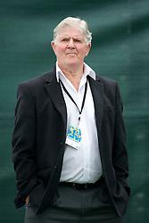 LIVERPOOL, ENGLAND - Saturday, June 18, 2011: Tournament Referee Alan Mills during day three of the Liverpool International Tennis Tournament at Calderstones Park. (Pic by David Rawcliffe/Propaganda)