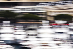 May 24, 2018 - Montecarlo, Monaco - 31 Esteban Ocon from France Force India F1 VJM11  in the middle of the boats  during the Monaco Formula One Grand Prix  at Monaco on 24th of May, 2018 in Montecarlo, Monaco. (Credit Image: © Xavier Bonilla/NurPhoto via ZUMA Press)