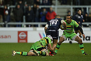 Mark Jennings during the Aviva Premiership match between Sale Sharks and Northampton Saints at the AJ Bell Stadium, Eccles, United Kingdom on 25 November 2017. Photo by George Franks.