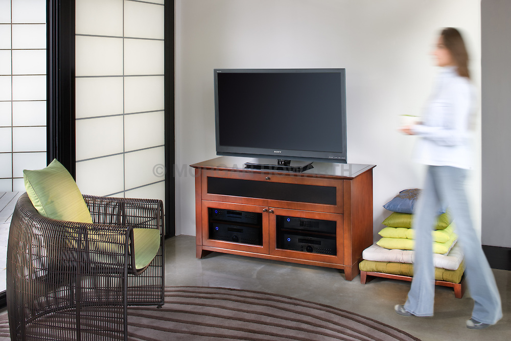 Family room TV room