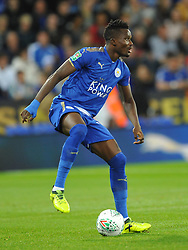 DANIEL AMARTEY LEICESTER CITY  Leicester City v Leeds United EFL League Carabao Cup  Fourth Round, King Power Stadium Tuesday 24th October 2017, Score 2-1, Photo:Mike Capps