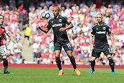 West Ham United midfielder Joao Mario (18) during the Premier League match between Arsenal and West Ham United at the Emirates Stadium, London, England on 22 April 2018. Picture by Bennett Dean.