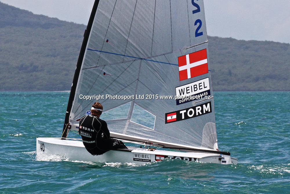 Race 6 Finn Gold Cup Takapuna - Jonas Hogh-Christensen