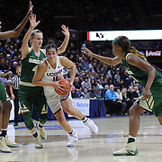 STORRS, CONNECTICUT- NOVEMBER 17: Kia Nurse #11 of the UConn Huskies drives to the basket during the UConn Huskies Vs Baylor Bears NCAA Women's Basketball game at Gampel Pavilion, on November 17th, 2016 in Storrs, Connecticut. (Photo by Tim Clayton/Corbis via Getty Images)