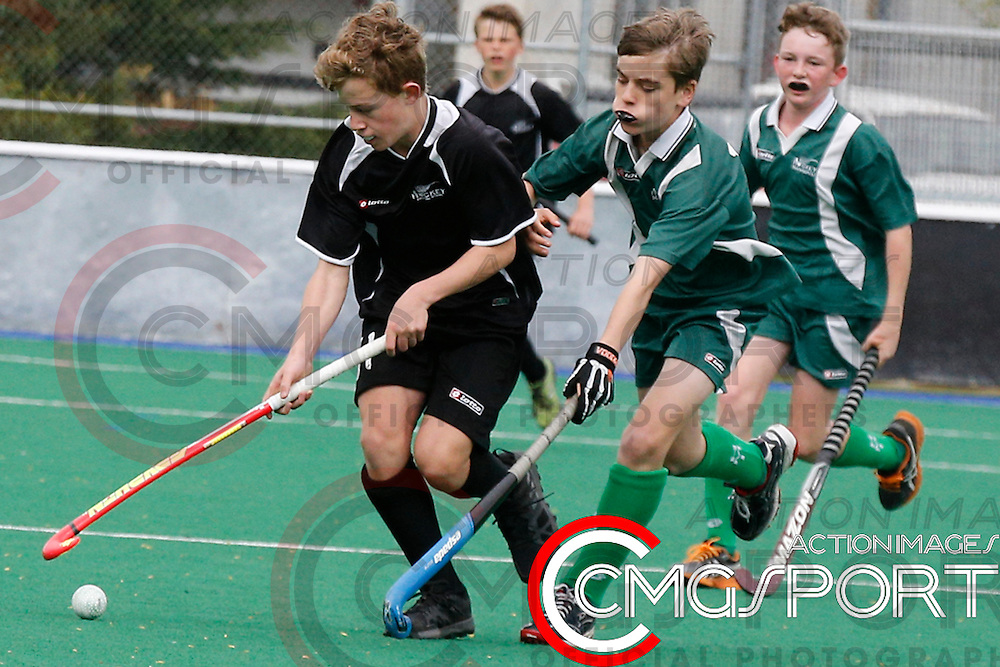 MANAWATU V CENTRAL OTAGO DAY 2<br /> U13 BOYS HATCH CUP FROM NUNWEEK PARK IN Christchurch. September 1, 2014.<br /> Photo by Kevin Clarke CMGSPORT