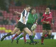 11/01/2004 - Photo  Peter Spurrier.2003/04 Parker Pen Challenge Cup Saracens v Glasgow.Daniel Parks   [Mandatory Credit, Peter Spurier/ Intersport Images].