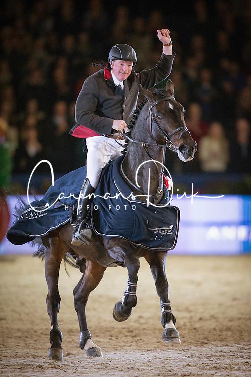 Whitaker John (GBR) - Argento<br /> Jumping Amsterdam 2014<br /> © Hippo Foto - Leanjo de Koster