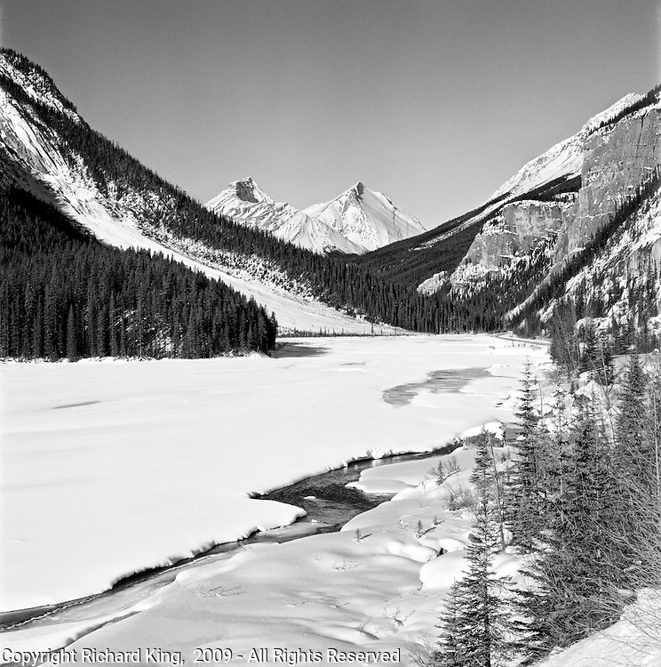 Saskatchewan River, Winter