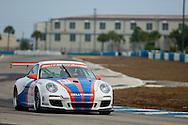 #81 Kelly Moss Motorsports Porsche GT3 Cup: Roger Schramm