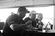 August 22-24, 2014: Virginia International Raceway. Driver's briefing