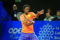 Gael MONFILS - 05.02.2015 - Tennis - Open Sud de France- Montpellier<br />Photo : Nicolas Guyonnet / Icon Sport