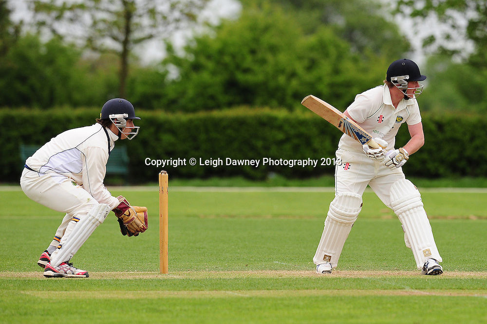 Orsett CC (A Team) v Harold Wood (A Team) at Orsett Cricket Club ground. Essex Sunday League Cricket. 12.05.13. Credit © Leigh Dawney Photography 2013.