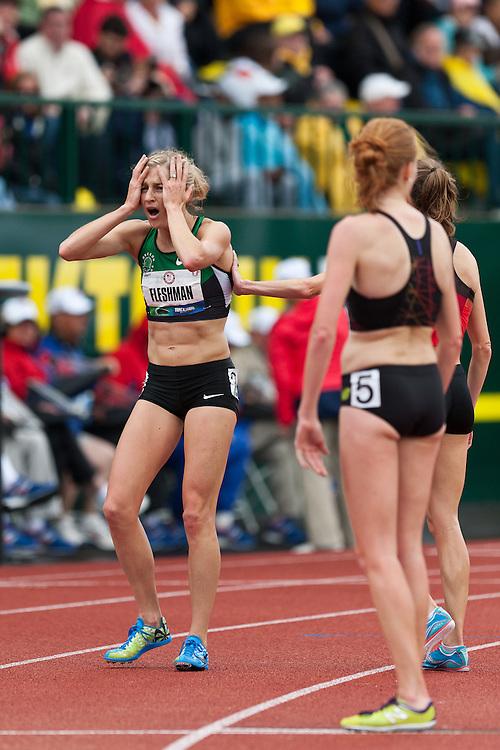 Olympic Trials Eugene 2012: Lauren Fleshman, women's 5000 meter heats