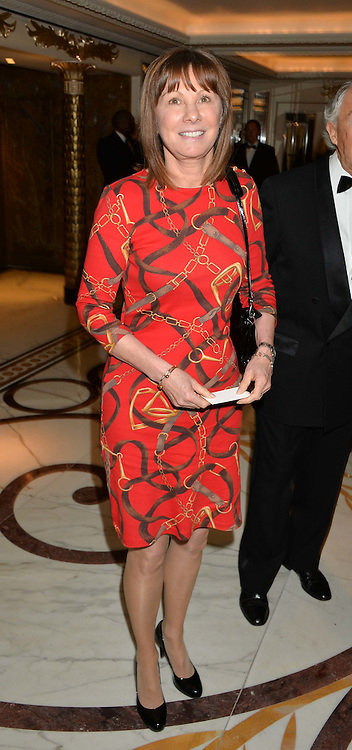 LADY CECIL widow of Sir Henry Cecil at the 24th Cartier Racing Awards held at The Dorchester, Park Lane, London on 11th November 2014.