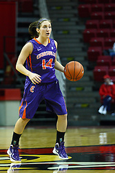 01 January 2012:  Staci Gillum during an NCAA women's basketball game between the Evansville Purple Aces and the Illinois Sate Redbirds at Redbird Arena in Normal IL