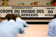 30/09/14 - BRIOUDE - HAUTE LOIRE - FRANCE - Ovinpiades Mondiales des Jeunes Bergers - Photo Jerome CHABANNE