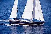 Blue Too during the 2011  St. Barths Bucket Regatta Race 3.