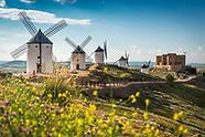 Following Don Quijote through Castilla-La Mancha in Spain.