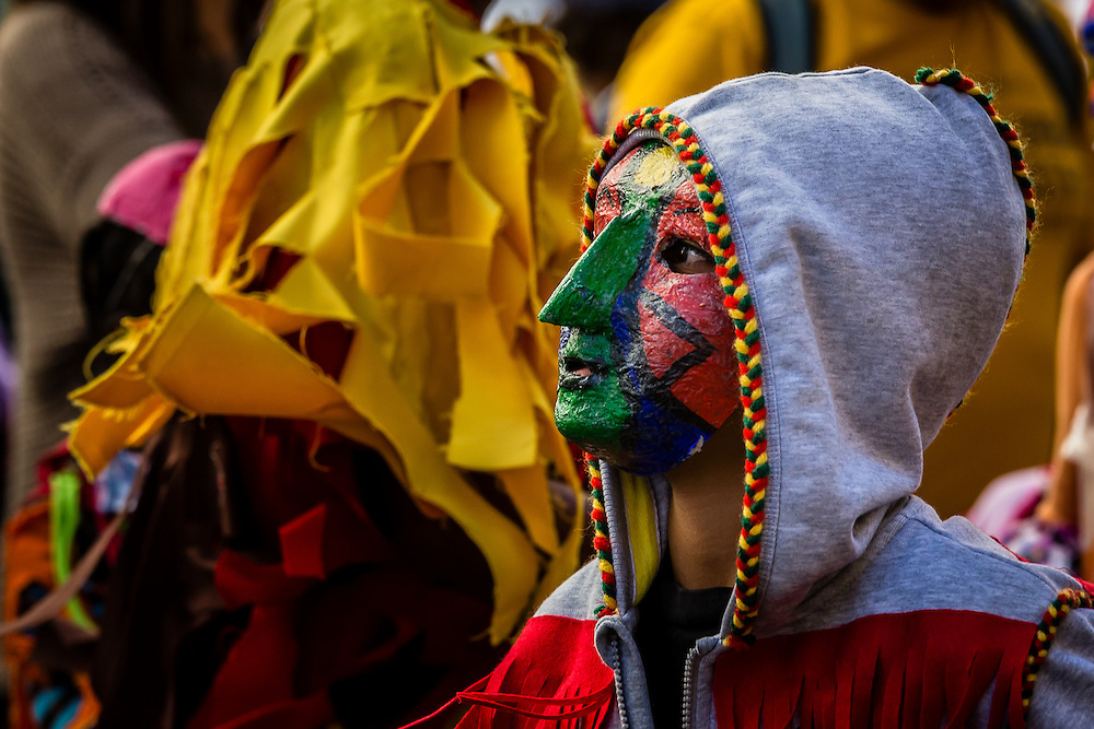 The masked traditions from the north of Portugal have been promoted in some schools and parent's associations to call the attention of the children to this beautiful tradtition.