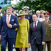 LUX/Luxembug/20180523 - Staatbezoek Luxemburg 2018 dag 1, Vertrek Willem-Alexander en Maxima