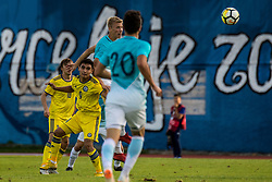 Ziga Lipuscek of Slovenia during football match between Slovenia and Kazahstan in Qualifying round for European Under-21 Championship 2019, on September 11, 2018 in Mestni Stadium Ptuj, Slovenija, 2018. Photo Grega Valancic