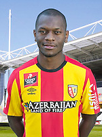 Jordan IKOKO - 30.10.2015 - Portrait Officiel - Lens<br /> Photo : RC Lens / Icon Sport