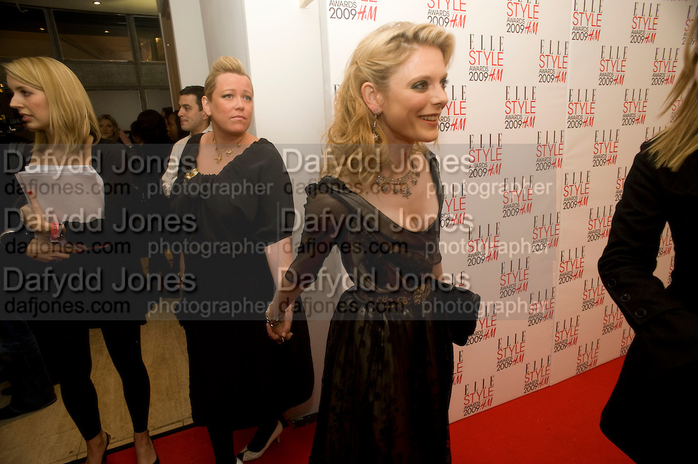 KATE HALFPENNY; AMELIA FOX. The Elle Style Awards 2009, The Big Sky Studios, Caledonian Road. London. February 9 2009.  *** Local Caption *** -DO NOT ARCHIVE -Copyright Photograph by Dafydd Jones. 248 Clapham Rd. London SW9 0PZ. Tel 0207 820 0771. www.dafjones.com<br /> KATE HALFPENNY; AMELIA FOX. The Elle Style Awards 2009, The Big Sky Studios, Caledonian Road. London. February 9 2009.