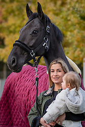 Van Mieghem Shani, Alderweireld Ayla, BEL, Sicilia van de Helle<br /> Stal De Wolfshoeve - Huijbergen 2019<br /> © Hippo Foto - Dirk Caremans<br /> 13/11/2019