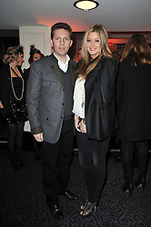 NICK CANDY and HOLLY VALANCE at Quintessentially's 10th birthday party held at The Savoy Hotel, London on 13th December 2010.