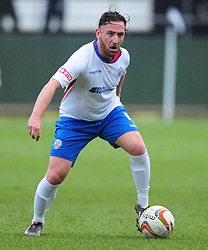JOE CURTIS  RUSHDEN & DIAMONDS  AFC Rushden & Diamonds v Hartley Wintney FC Hayden Road, Evo Stik League South East Saturday 2nd December 2017 Score 2-0, Rushden go top of League, Photo:Mike Capps