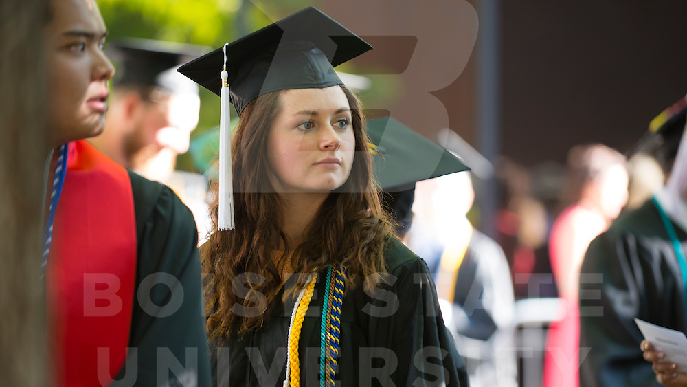 Spring Commencement, Carrie Quinney photo
