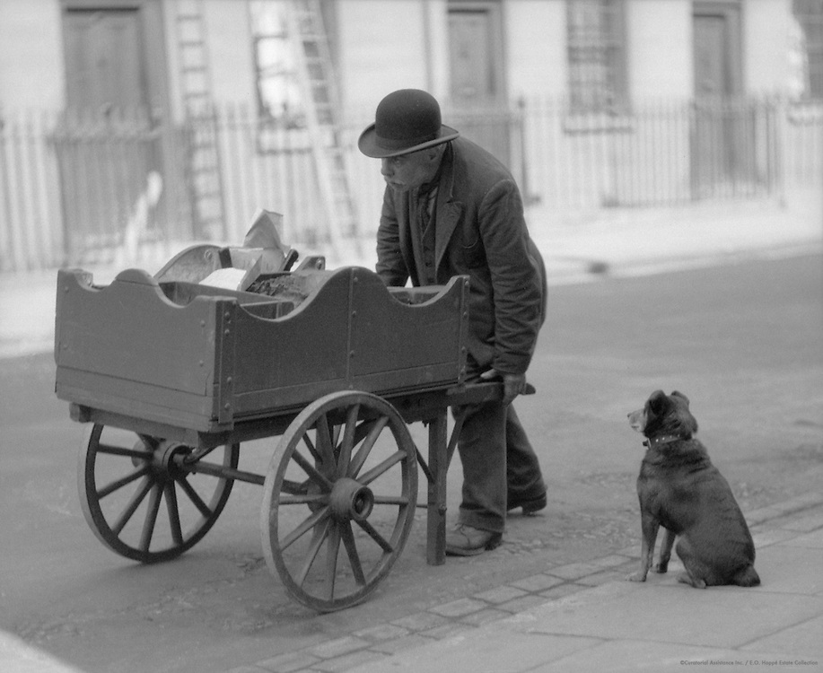 Cats Meat Seller, London, 1933