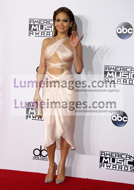 Jennifer Lopez at the 2014 American Music Awards held at the Nokia Theatre L.A. Live in Los Angeles on November 23, 2014 in Los Angeles, California. Credit: Lumeimages.com