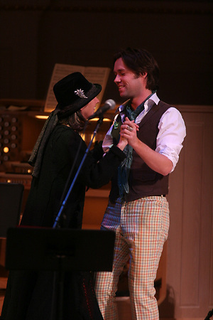 Rufus Wainwright at Carnegie Hall on December 22, 2005.in a show titled &quot;A McGarrigle Christmas.<br />